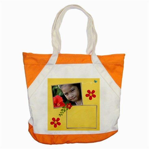 Accent Tote Bag Front
