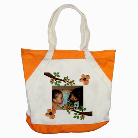 Accent Tote Bag  Summer Flowers 6 By Jennyl   Accent Tote Bag   Qgeoelbsdbb1   Www Artscow Com Front