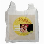 happy day - Recycle Bag (One Side)