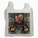 Cream delight recycle Bag (2 sided) - Recycle Bag (Two Side)
