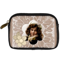 Flora Camera Case By Catvinnat   Digital Camera Leather Case   H5tuggb9w799   Www Artscow Com Front