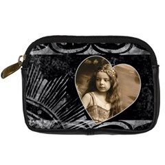 Angelica Camera Case By Catvinnat   Digital Camera Leather Case   I9is0wptvc19   Www Artscow Com Front