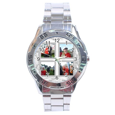 Dove Stainless Steel Analogue Watch By Catvinnat   Stainless Steel Analogue Watch   3t766bq3d50r   Www Artscow Com Front