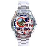 My Hero US Military Stainless Steel Analogue Watch - Stainless Steel Analogue Men's Watch