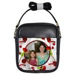 Rose girls purse - Girls Sling Bag