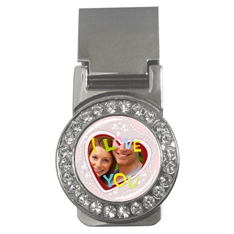Lover By Joely   Money Clip (cz)   P5bto6zzix7v   Www Artscow Com Front