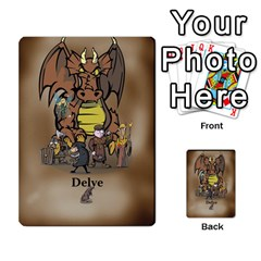 Delvebasic By Mark Campo   Multi Purpose Cards (rectangle)   Dwev6wisp5a4   Www Artscow Com Back 4