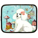 Wht Poodle Bon Bon Treats Squared Copy Netbook Case (XXL)