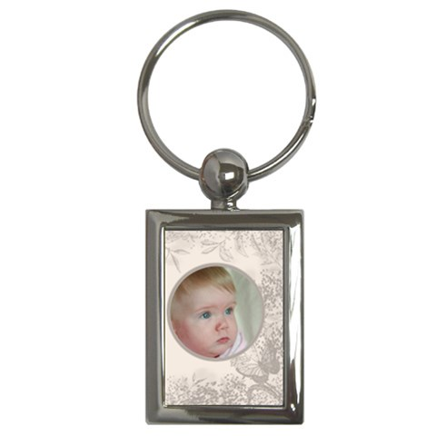 My Little Butterfly Key Ring By Deborah   Key Chain (rectangle)   Pgk0915asxwm   Www Artscow Com Front