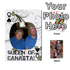 Queen Grandma s Cards By Larissa   Playing Cards 54 Designs   Dt2tabmia5gj   Www Artscow Com Front - SpadeQ