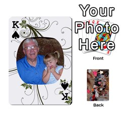 King Grandma s Cards By Larissa   Playing Cards 54 Designs   Dt2tabmia5gj   Www Artscow Com Front - SpadeK