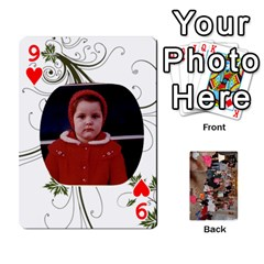 Grandma s Cards By Larissa   Playing Cards 54 Designs   Dt2tabmia5gj   Www Artscow Com Front - Heart9