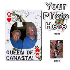 Queen Grandma s Cards By Larissa   Playing Cards 54 Designs   Dt2tabmia5gj   Www Artscow Com Front - HeartQ