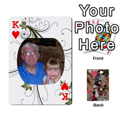 King Grandma s Cards By Larissa   Playing Cards 54 Designs   Dt2tabmia5gj   Www Artscow Com Front - HeartK