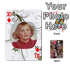 Grandma s Cards By Larissa   Playing Cards 54 Designs   Dt2tabmia5gj   Www Artscow Com Front - Diamond10