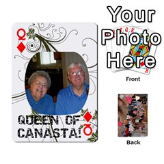 Queen Grandma s Cards By Larissa   Playing Cards 54 Designs   Dt2tabmia5gj   Www Artscow Com Front - DiamondQ
