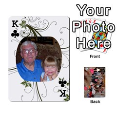 King Grandma s Cards By Larissa   Playing Cards 54 Designs   Dt2tabmia5gj   Www Artscow Com Front - ClubK
