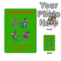 Tmnt Turtle Deck By Daniel Chick   Multi Purpose Cards (rectangle)   180347   Www Artscow Com Front 4