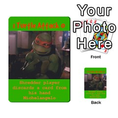 Tmnt Turtle Deck By Daniel Chick   Multi Purpose Cards (rectangle)   180347   Www Artscow Com Front 42