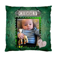 Cuddly  By Lil    Standard Cushion Case (two Sides)   Uyaaerv6g12s   Www Artscow Com Front