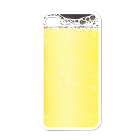 Beer By Clince   Apple Iphone 4 Case (white)   Nggkoj41jxnp   Www Artscow Com Front