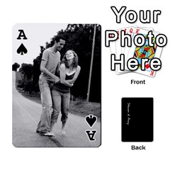 Ace Steve And Amy By Benjamin   Playing Cards 54 Designs   38pygx3brbdb   Www Artscow Com Front - SpadeA