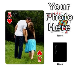 Steve And Amy By Benjamin   Playing Cards 54 Designs   38pygx3brbdb   Www Artscow Com Front - Heart5