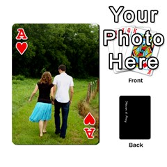 Ace Steve And Amy By Benjamin   Playing Cards 54 Designs   38pygx3brbdb   Www Artscow Com Front - HeartA