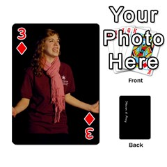 Steve And Amy By Benjamin   Playing Cards 54 Designs   38pygx3brbdb   Www Artscow Com Front - Diamond3
