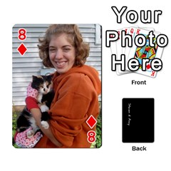 Steve And Amy By Benjamin   Playing Cards 54 Designs   38pygx3brbdb   Www Artscow Com Front - Diamond8