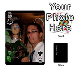 Steve And Amy By Benjamin   Playing Cards 54 Designs   38pygx3brbdb   Www Artscow Com Front - Club5