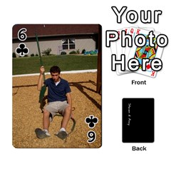 Steve And Amy By Benjamin   Playing Cards 54 Designs   38pygx3brbdb   Www Artscow Com Front - Club6