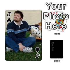 Jack Steve And Amy By Benjamin   Playing Cards 54 Designs   38pygx3brbdb   Www Artscow Com Front - SpadeJ