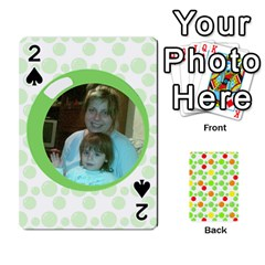 My Cards Baloon By Galya   Playing Cards 54 Designs   Ldapdjupu8vj   Www Artscow Com Front - Spade2