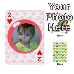 My Cards Baloon By Galya   Playing Cards 54 Designs   Ldapdjupu8vj   Www Artscow Com Front - Heart2