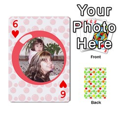 My Cards Baloon By Galya   Playing Cards 54 Designs   Ldapdjupu8vj   Www Artscow Com Front - Heart6