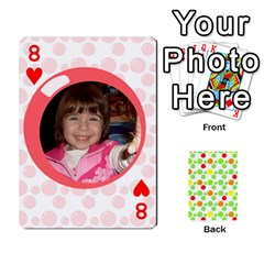 My Cards Baloon By Galya   Playing Cards 54 Designs   Ldapdjupu8vj   Www Artscow Com Front - Heart8