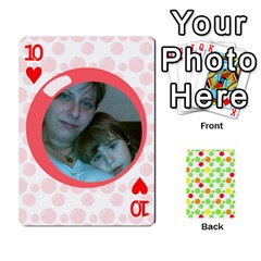 My Cards Baloon By Galya   Playing Cards 54 Designs   Ldapdjupu8vj   Www Artscow Com Front - Heart10