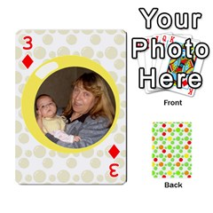 My Cards Baloon By Galya   Playing Cards 54 Designs   Ldapdjupu8vj   Www Artscow Com Front - Diamond3