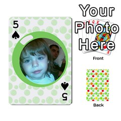 My Cards Baloon By Galya   Playing Cards 54 Designs   Ldapdjupu8vj   Www Artscow Com Front - Spade5