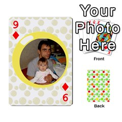 My Cards Baloon By Galya   Playing Cards 54 Designs   Ldapdjupu8vj   Www Artscow Com Front - Diamond9