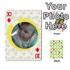My Cards Baloon By Galya   Playing Cards 54 Designs   Ldapdjupu8vj   Www Artscow Com Front - Diamond10