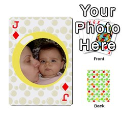 Jack My Cards Baloon By Galya   Playing Cards 54 Designs   Ldapdjupu8vj   Www Artscow Com Front - DiamondJ