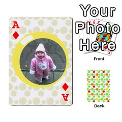 Ace My Cards Baloon By Galya   Playing Cards 54 Designs   Ldapdjupu8vj   Www Artscow Com Front - DiamondA