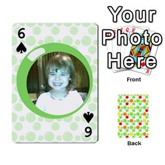 My Cards Baloon By Galya   Playing Cards 54 Designs   Ldapdjupu8vj   Www Artscow Com Front - Spade6