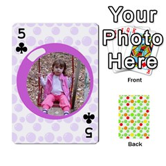 My Cards Baloon By Galya   Playing Cards 54 Designs   Ldapdjupu8vj   Www Artscow Com Front - Club5