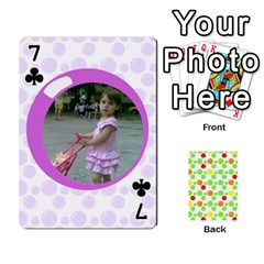 My Cards Baloon By Galya   Playing Cards 54 Designs   Ldapdjupu8vj   Www Artscow Com Front - Club7