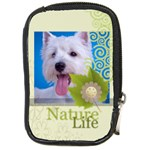 happy pet  - Compact Camera Leather Case