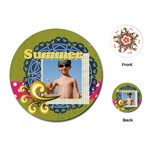 summer - Playing Cards (Round)