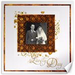 Lovely Day Dove 20 inch canvas - Canvas 20  x 20